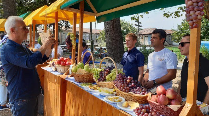 გურჯაანმა ხილის ფესტივალს უმასპინძლა