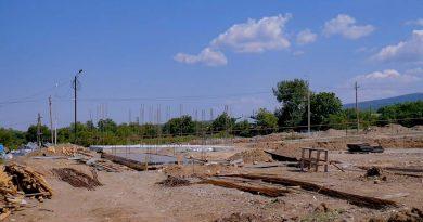 თელავში ავტოსადგომის მშენებლობა შემოდგომაზე დასრულდება